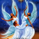 Angel Trio Cross Stitch Pattern African American ~ETP~