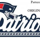 New England Patriots #3 Cross Stitch Pattern Football NFL ~ETP~