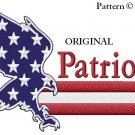 New England Patriots Eagle Cross Stitch Pattern NFL Football ~ETP~