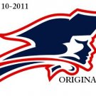 New England Patriots Logo Cross Stitch Pattern NFL Football ~ETP~