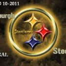 PittsburghSteelers #1 Cross Stitch Pattern NFL Football ~ETP~