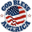 God Bless America Cross Stitch Pattern Patriotic ~ETP~