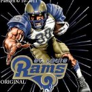 St. Louis Rams #5 Cross Stitch Pattern Football NFL ~ETP~