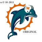 Miami Dolphins #2 Cross Stitch Pattern NFL Football ~ETP~