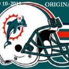 Miami Dolphins Helmet #2 Cross Stitch Pattern Football NFL ~ETP~