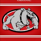 Georgia Bulldogs Poster Cross Stitch Pattern Football ~ETP~