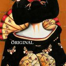 Geisha Leaving Cross Stitch Pattern Oriental ~ETP~
