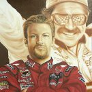 Dale Earnhardt ~ Sr. & Jr. Cross Stitch Pattern NASCAR ~ETP~
