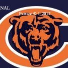 Chicago Bears #1 Cross Stitch Pattern NFL FOotball
