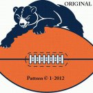 Chicago Bears #2 Cross Stitch Pattern NFL Football