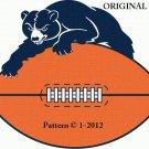 Chicago Bears #2 Cross Stitch Pattern NFL Football