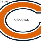 Chicago Bears #3 Cross Stitch Pattern NFL Football