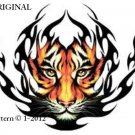 Tiger Tattoo Cross Stitch Pattern