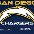 San Diego Chargers #3 Cross Stitch Pattern NFL Football
