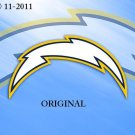 San Diego Chargers #4 Cross Stitch Pattern NFL Football