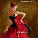 Spanish Enchantress Cross Stitch Pattern Hispanic Dance
