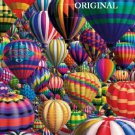 Hot Air Ballons Cross Stitch Pattern ~ETP~