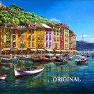 Portofino ~ Italian Riviera Cross Stitch Pattern Italy ~ETP~