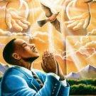 Prayer Cross Stitch Pattern African American ~ETP~