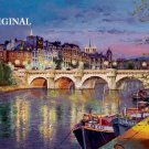 Pont Neuf on the Seine Cross Stitch Pattern France ~ETP~
