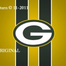 Green Bay Packers #3 Cross Stitch Pattern NFL Football ~ETP~