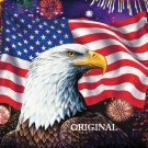 Celebration America Cross Stitch Pattern Patriotic ~ETP~