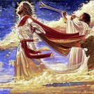 At The Last Trump Cross Stitch Pattern Jesus Messianic ~ETP~