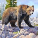 Mountain Grizzly Cross Stitch Pattern Bears ~ETP~