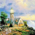 Light in the Storm Cross Stitch Pattern Kinkade ETP