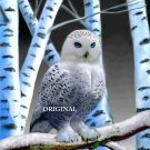 ~BEAUTIFUL~ Snowy Owl Cross Stitch Pattern Birds ETP