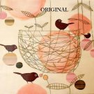 Birds & Peaches Cross Stitch Pattern Charley Harper ETP