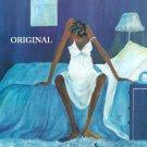 Blue Monday Cross Stitch Pattern African American ETP