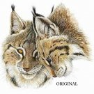2 Lynx Cross Stitch Pattern Cats ETP