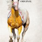 War Pony Cross Stitch Pattern Horses Indian ETP