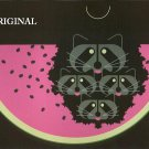 Watermelon 'Coons Cross Stitch Pattern Charles Harper ETP