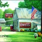 Coca Cola Country Store Cross Stitch Pattern ETP