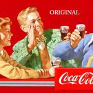 Coca Cola 'Together' Poster Cross Stitch Pattern Coke ETP