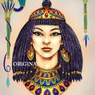 Egyptian Woman Cross Stitch Pattern ETP