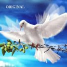 Dove ~ War & Peace Cross Stitch Pattern Birds ETP