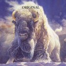 White Buffalo Cross Stitch Pattern Western ETP