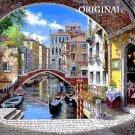 Venice Archway Cross Stitch Pattern Gondolas ETP