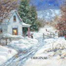 A White Christmas Cross Stitch Pattern ETP