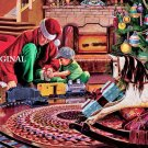 Christmas Tree Train Cross Stitch Pattern ETP