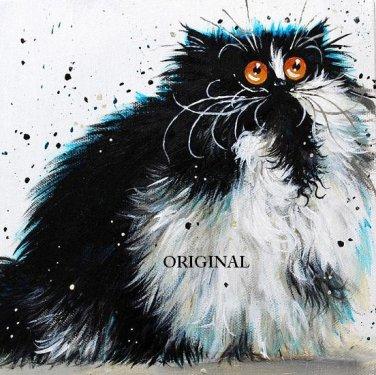 Crazy Cat Cross Stitch Pattern ETP
