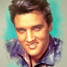 Elvis Presley Cross Stitch Pattern King of Rock & Roll ETP