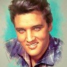 Elvis Presley Cross Stitch Pattern King of Rock & Roll ETP