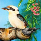 Kookaburra Cross Stitch Pattern Birds Australia ETP
