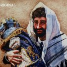 Jewish Rabbi ~ Torah Scroll Cross Stitch Pattern Messianic ETP