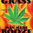 God Made Grass Cross Stitch Pattern Marijuana ETP