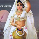 India Water Bearer Counted Cross Stitch Pattern ETP